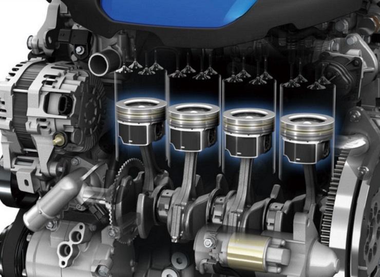 تعمیر موتور مزدا 3